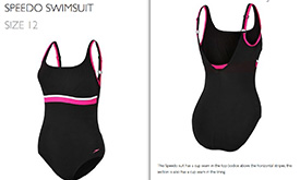 Speedo Swimsuit with Cup Shaping