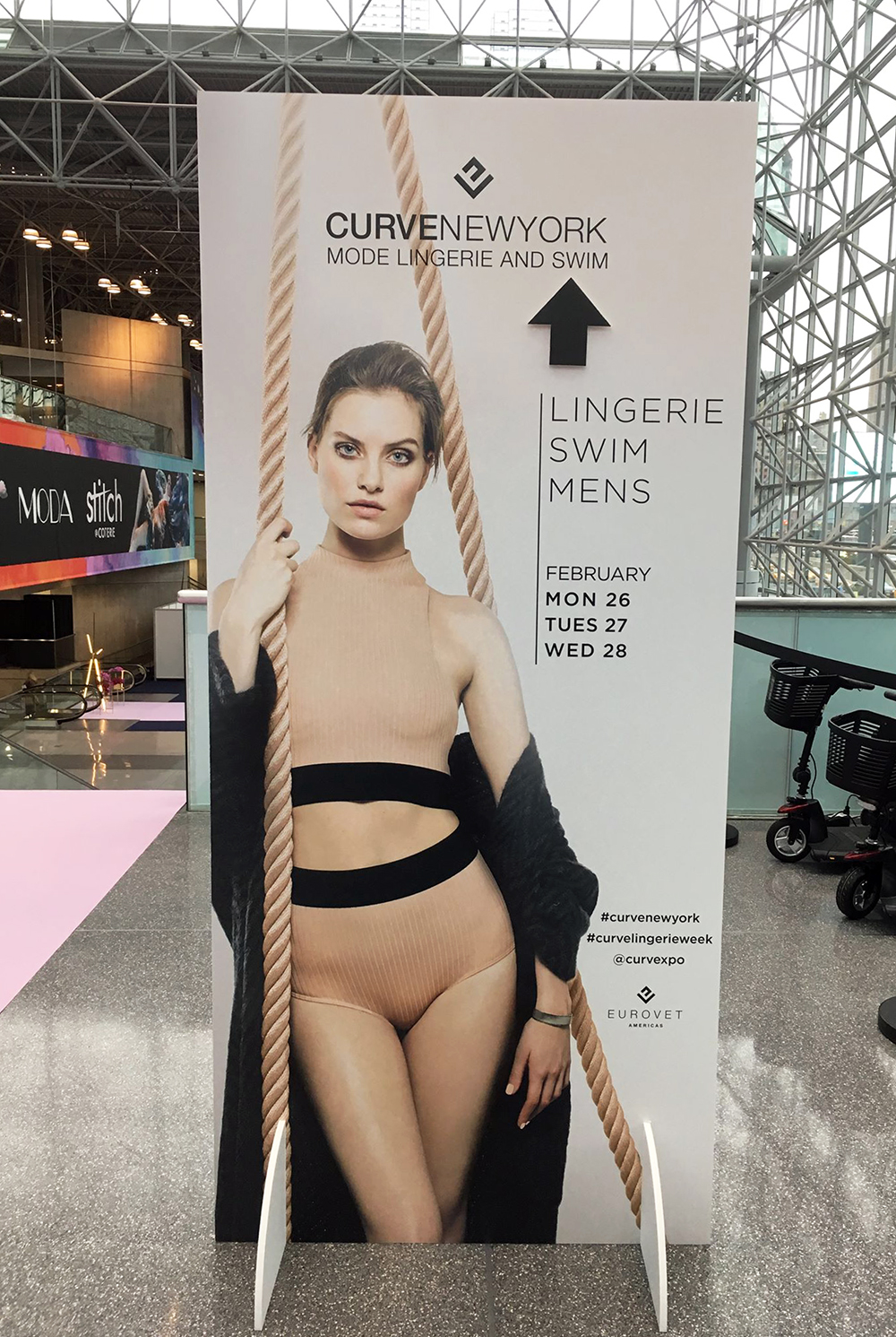 650f58f53f0 Eurovet's Curvexpo New York Mode Lingerie and Swim trade show took place at  the Javits Center from February 26-28, 2018. Exhibitors featured  Fall/Winter ...